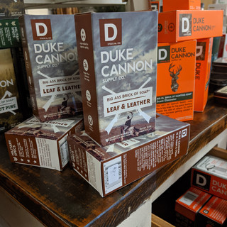 Duke Cannon Leaf and leather