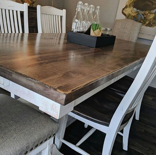 The kitchen table is the center of your