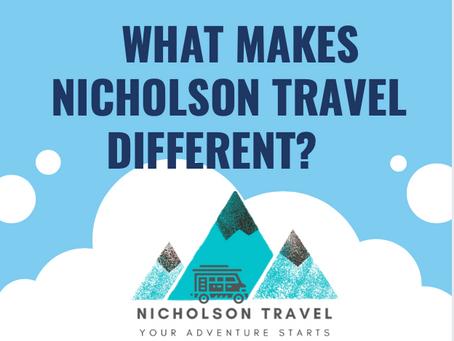 Why Nicholson Travel?