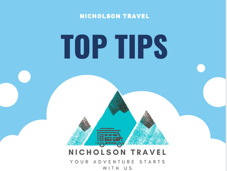 Nicholson Travel - Top Tips for your motorhome adventure