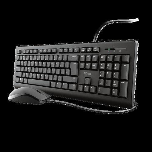 Juego de teclado y mouse Primo