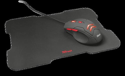 Ratón para juegos Ziva con alfombrilla de ratón