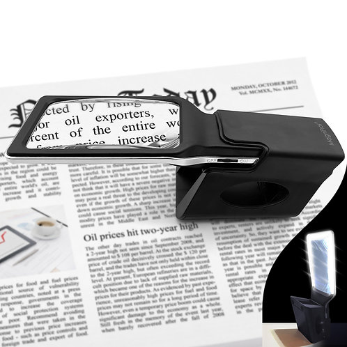 The Ultimate Holder/Stand for ED series Reading Magnifiers