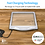 Thumbnail: Rechargeable 3X Large Ultra Bright LED Page Magnifier with 12 Dimmable LEDs