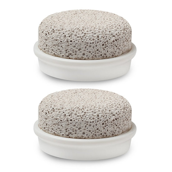 Stone SPA Pumice Stone Replacement Heads(Pack of 2)