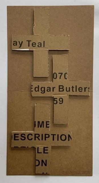 I Never Knew Edgar Butler - 2020