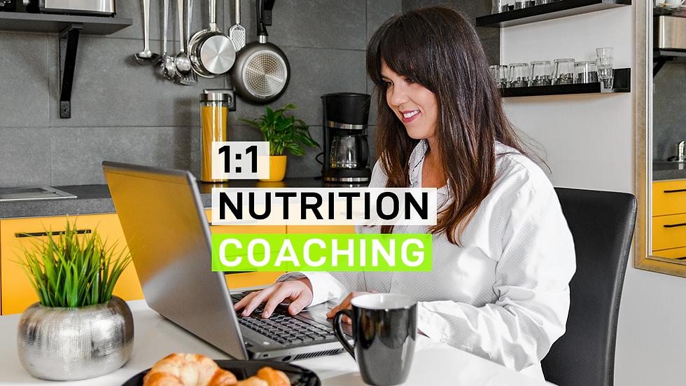 1:1 Nutrition Coaching