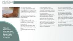 Tibialis Posterior Dysfunction