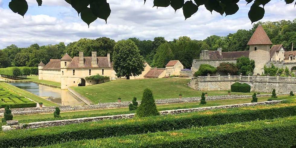 Fête des plantes au château de Villarceaux au coeur du Parc naturel régional du Vexin (95)