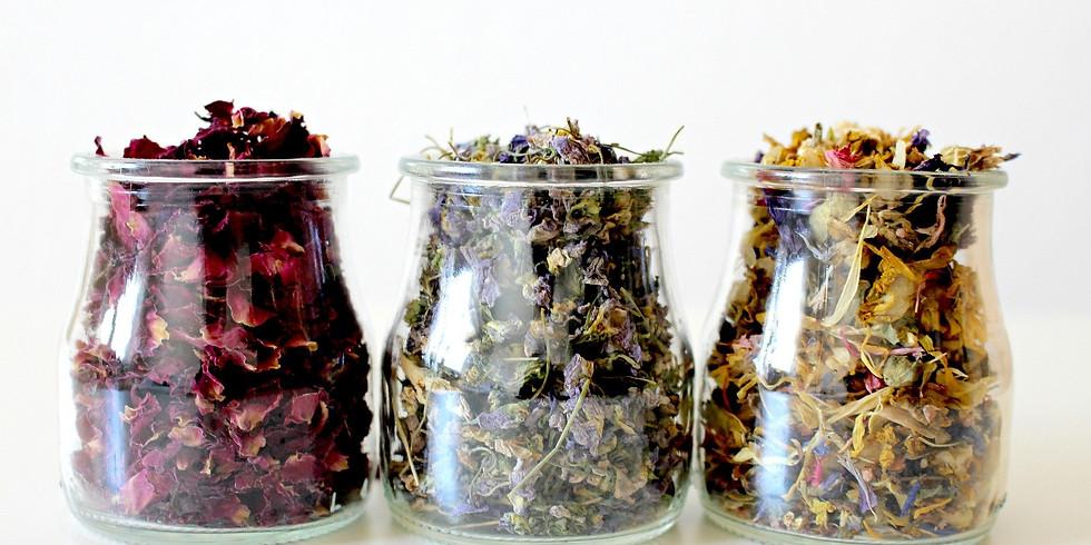 Découvrez l'herboristerie & créez votre tisane et devenez Herboriste en herbe ;) !