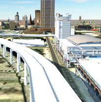 3D Downtown Model