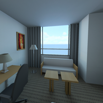 Mock Hotel Room