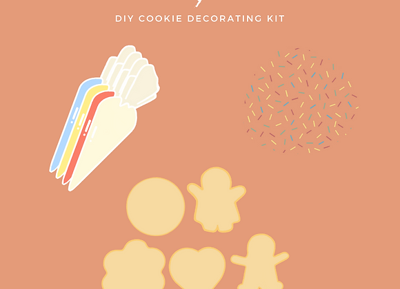 DIY Cookie Decorating Kit [Muslim Owned]