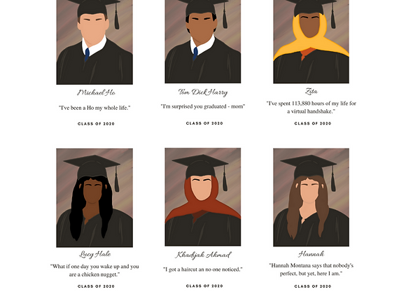 Personalised Graduation Postcards