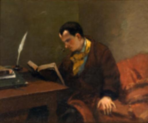 Gustave_Coubert._Retrato_de_Charles_Baud