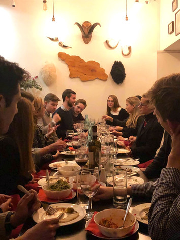 Dinner with Ambassador