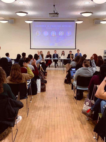 Careers in International Affairs: Panel Event 2019
