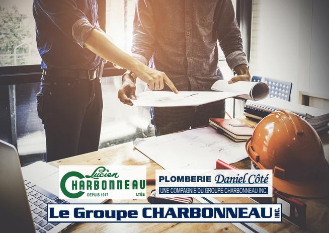 Annonce : Plomberie Daniel Côté, Lucien Charbonneau Ltée, Le Groupe Charbonneau (Québec)