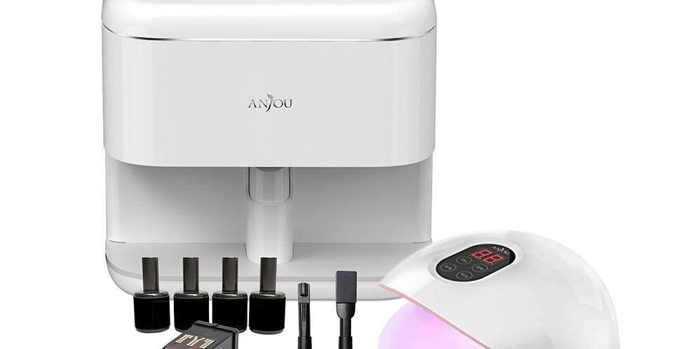 Anjou Nail Printer with Nail Dryer Set