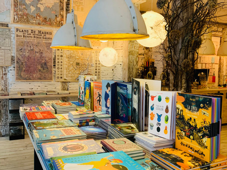 Une très jolie librairie dans Madrid? Energía Positiva Siglo XXI
