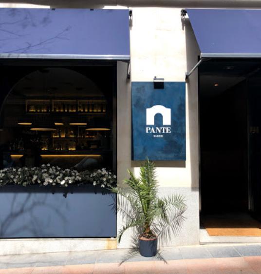 pante restaurant facade blog uneparisienneamadrid.com