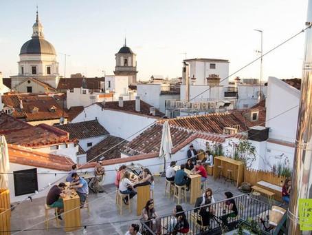 Les meilleures terrasses de Madrid pour dîner ou boire un verre.