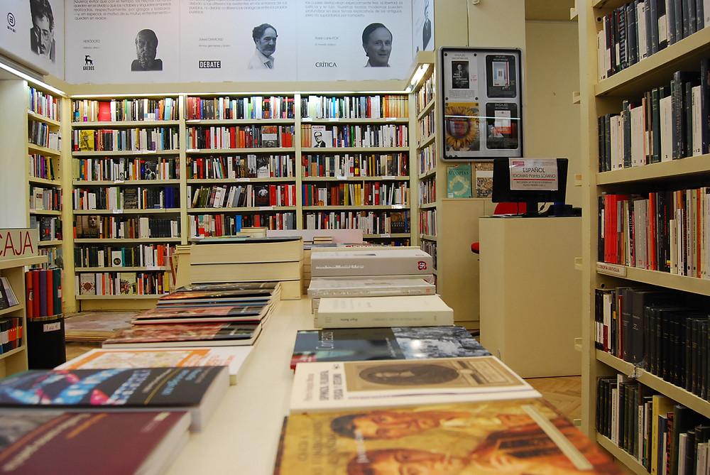 Pasajes Librairie blog uneparisienneamadrid.com