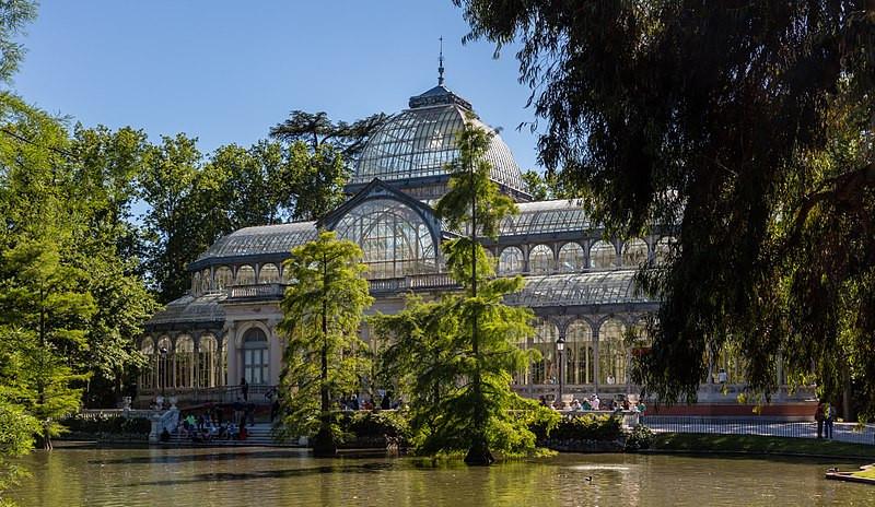 Palacio de Cristal. Madrid. El Retiro. blog uneparisienneamadrid.com