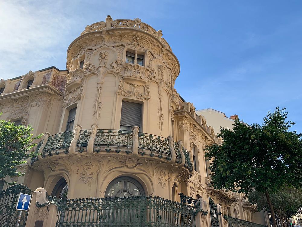 bâtiment art nouveau madrid calle fernando VI
