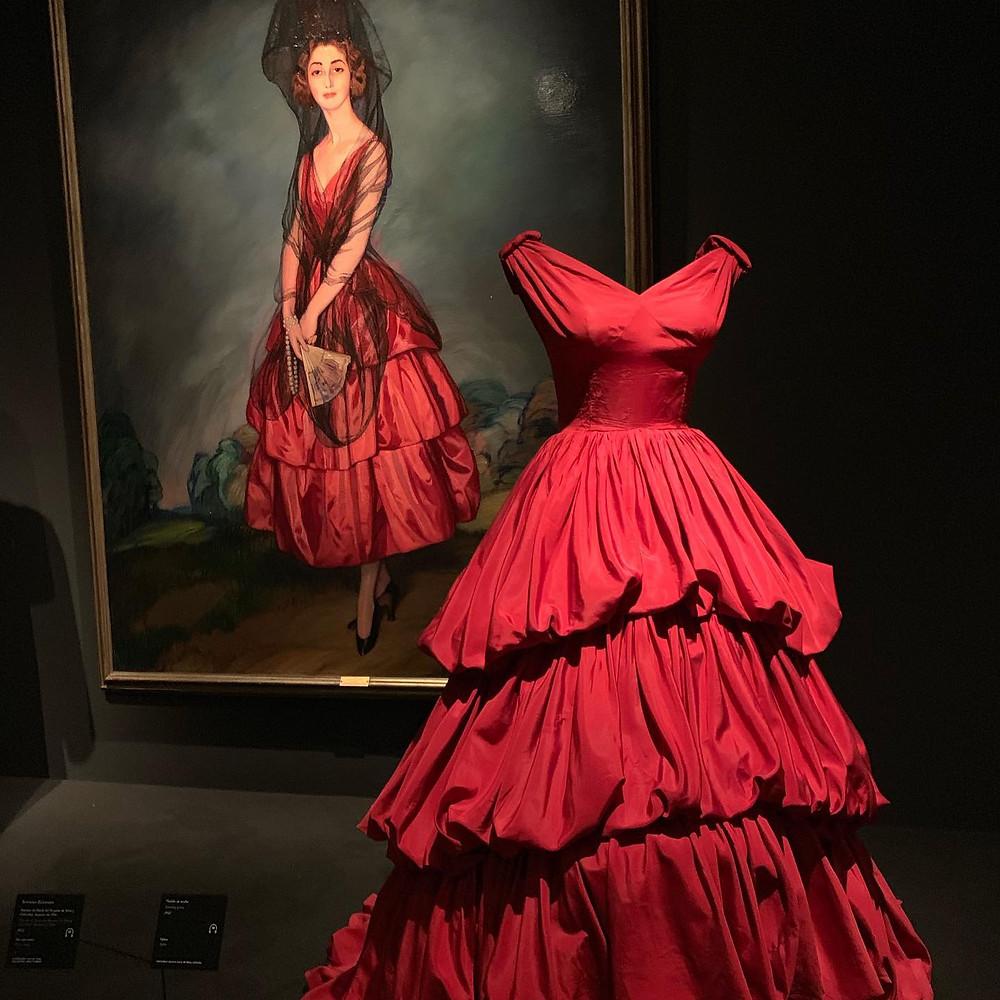 Exposition Balenciaga et la peinture espagnole. blog uneparisienneamadrid.com