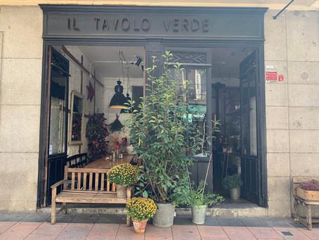Un restaurant végétarien à Madrid? Il Tavolo Verde
