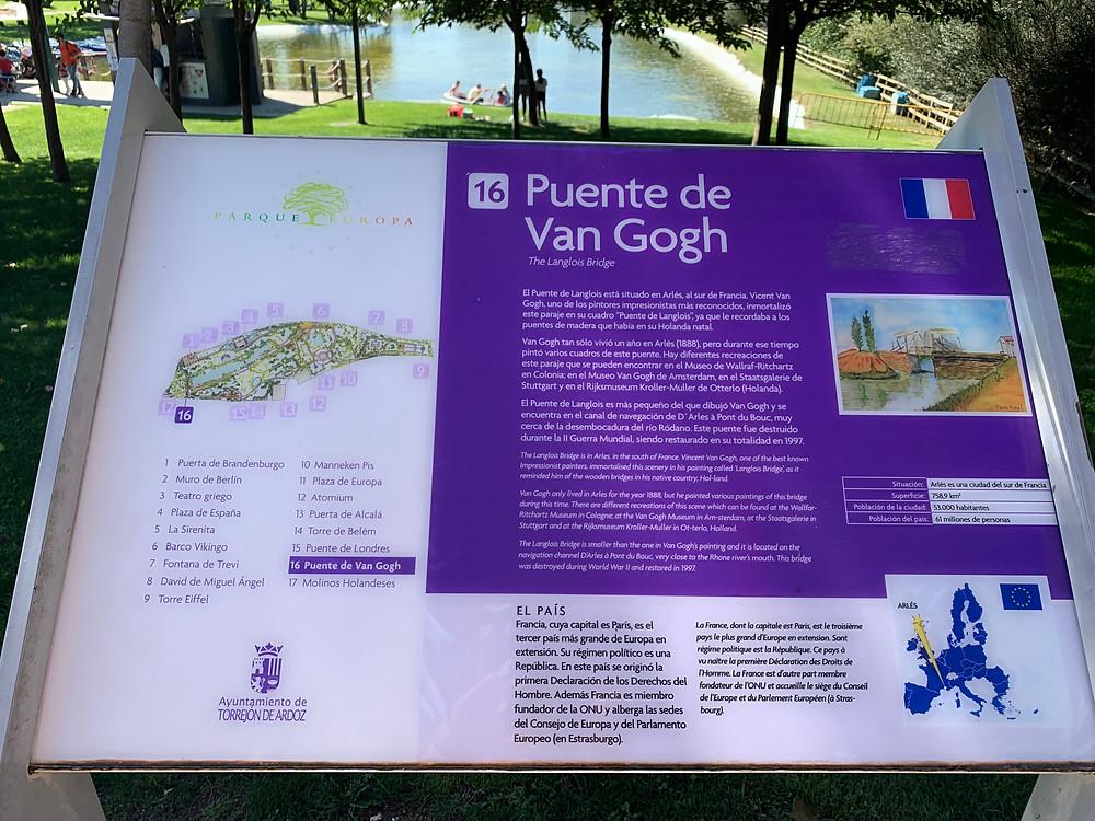 Parque Europa. blog uneparisienneamadrid.com