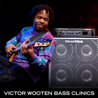 Victor Wooten Bass Clinics