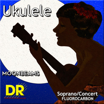 Aloha to DR Strings' new Multi-Color™ and Moonbeams™ Ukulele Sets