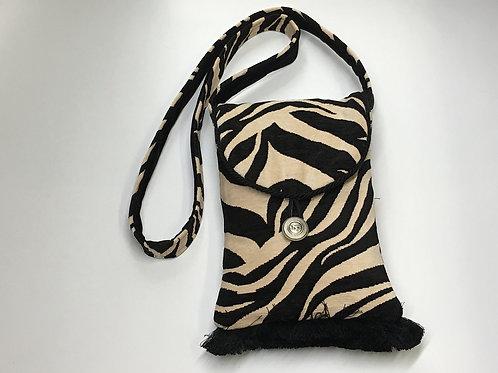 Black & White Zebra Shoulder