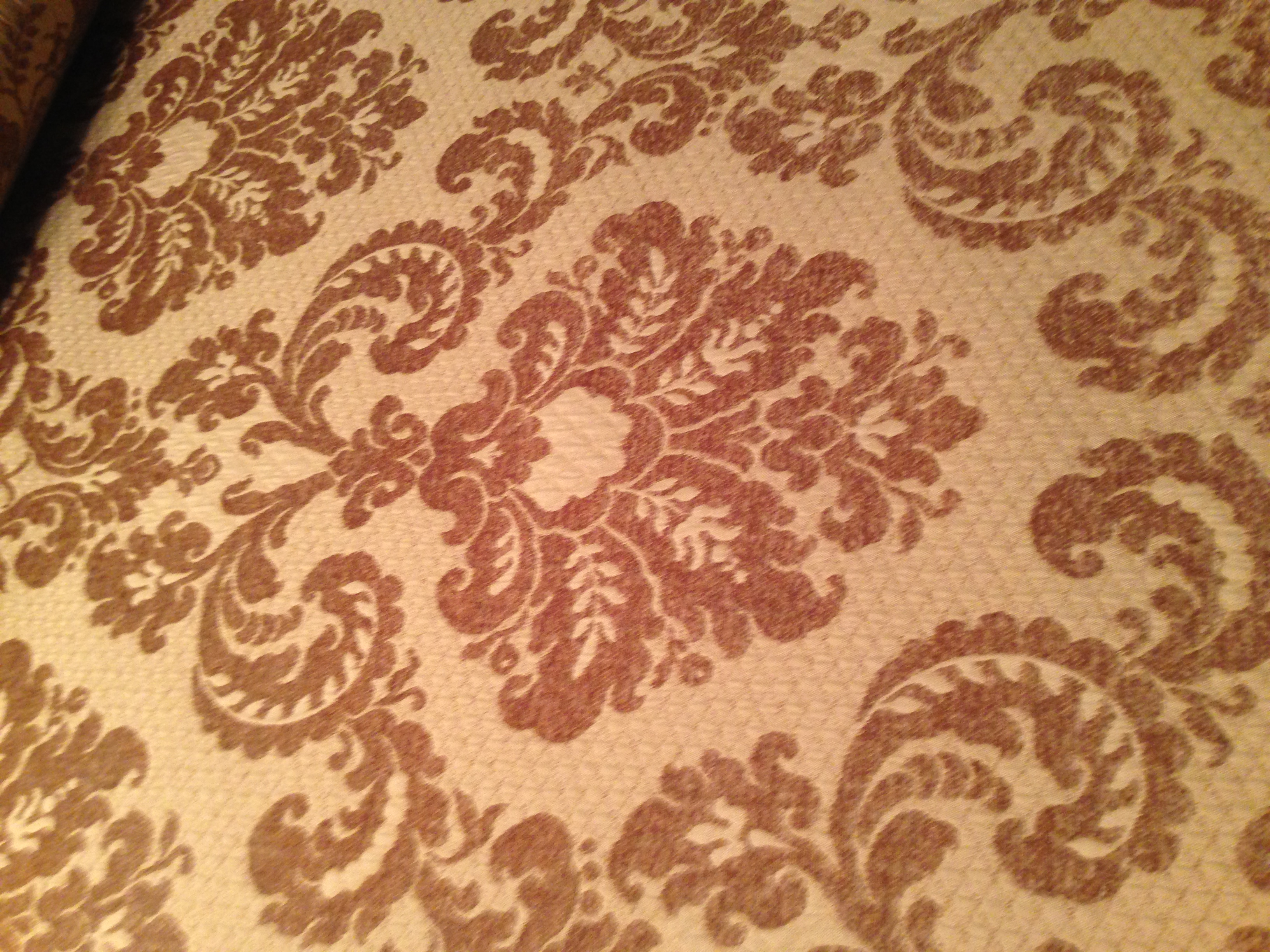 F-38 Gold Damask Chenille