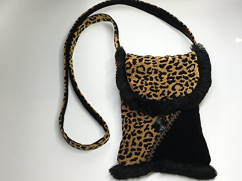 Brown Leopard Shoulderbag