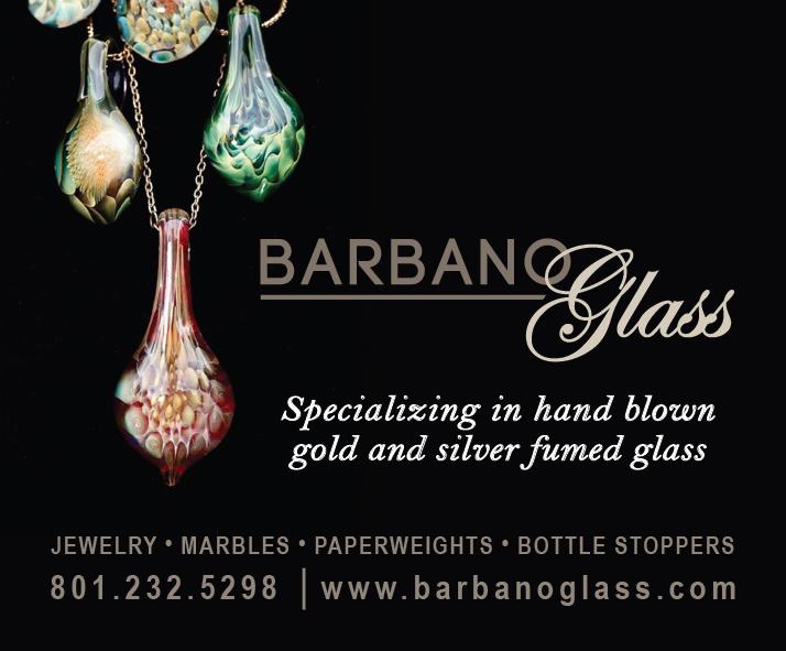 Barbano glass ad screen shot