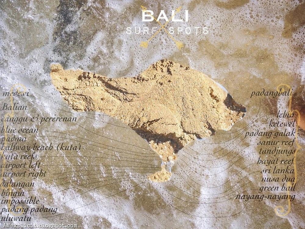 Bali Surf spots guide by Endless Trip
