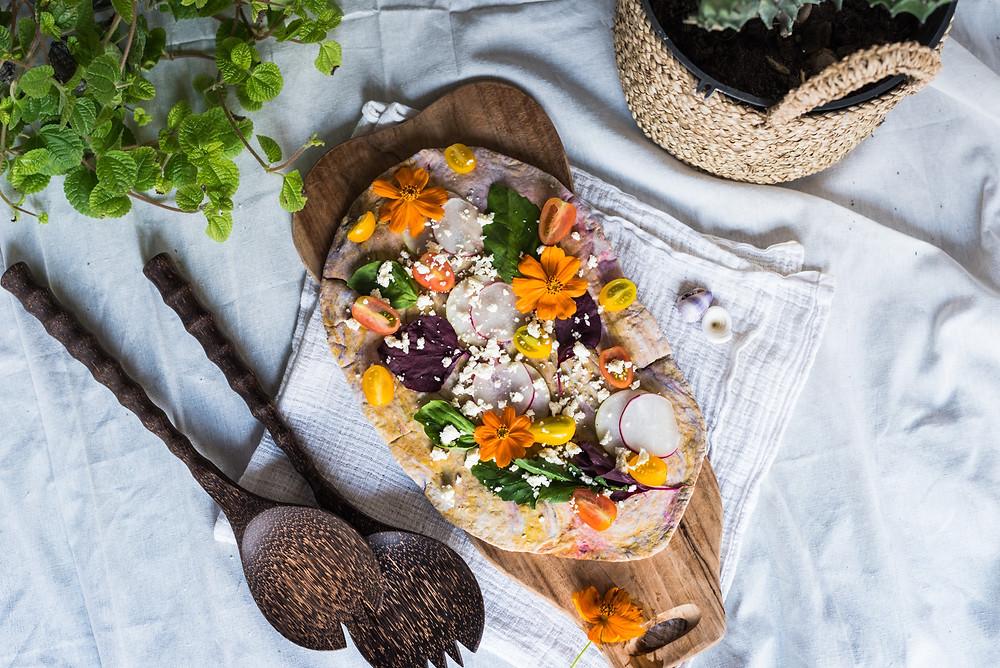 COLORFUL MARABLE PIZZA