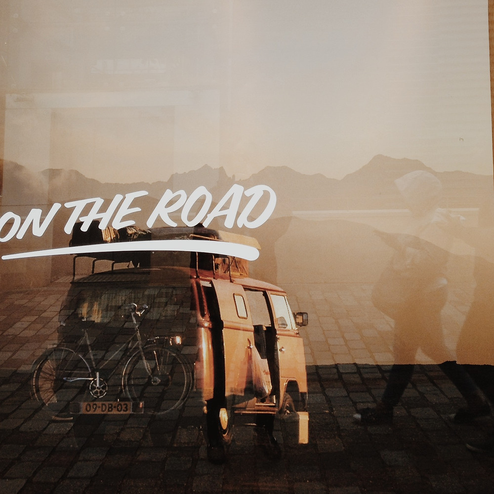 On the road by endless trip