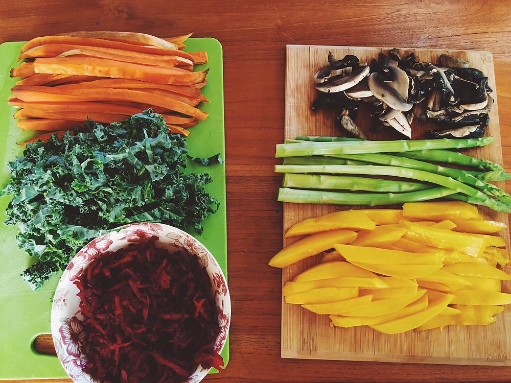 VEGAN QINOA SUSHI & Pickled Ginger