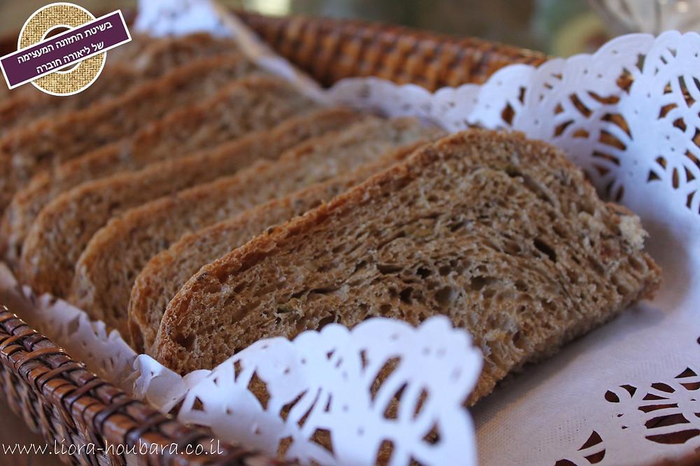 WHOLE-GRAINS SPELT BREAD Recipe by Liora Houbara