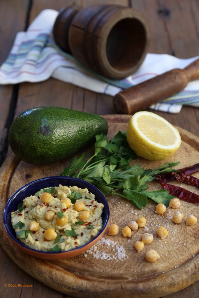 Avo-Hummus Recipe by Liora Houbara