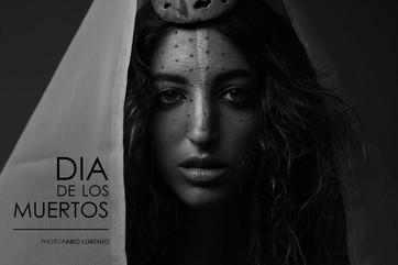 DIA DE LOS MUERTOS - Photo by Fabio Lorenzo Style Diaz H&M Emma