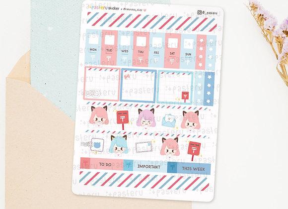 Honyara Collaboration Hobonichi Weeks Sticker
