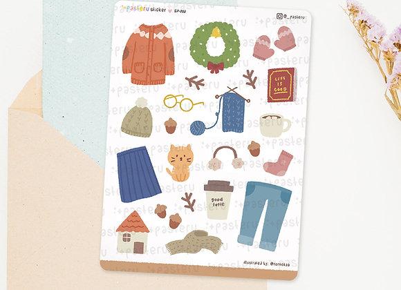 Cozy Fall-Winter Deco Stickers