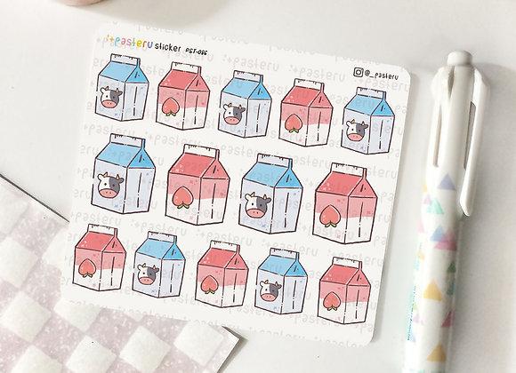 Peach Milk Carton - 086
