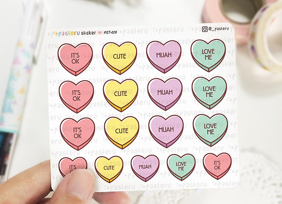 Heart Candy Planner Stickers