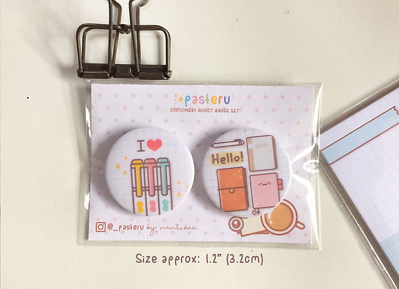 Stationery Lover Badge